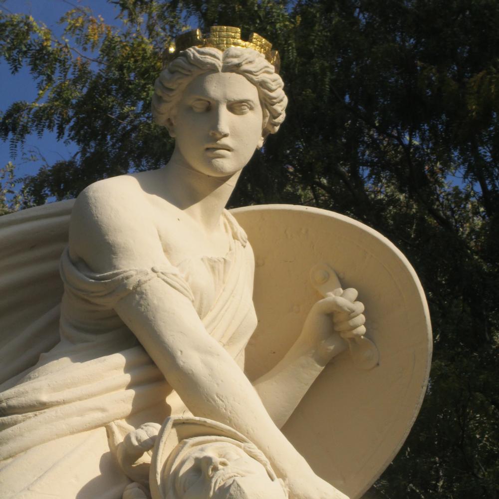 Monument Graaf Adolf, Heiligerlee   Bouwjaar:  1873   Bouwstijl: Classicistisch  Bouwtype:  Beeld