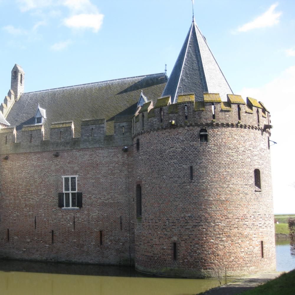 Kasteel Radboud, Medemblik   Bouwjaar:  1288   Bouwstijl: Romaans  Bouwtype:  Kasteel , verdedigingsburcht