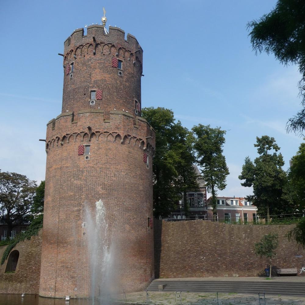 Kronenburgertoren, Nijmegen    Bouwjaar:  1425   Bouwstijl:  Romaans  Bouwtype:  Toren, verdedigingswerk