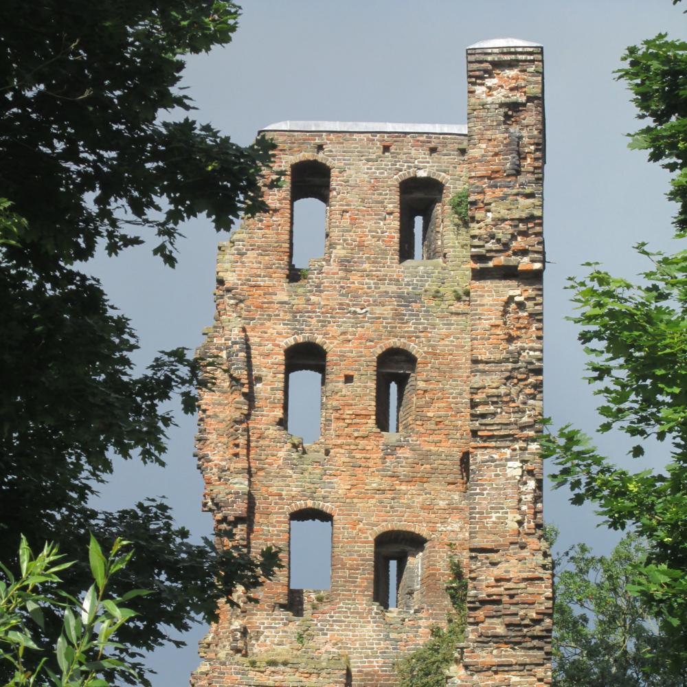 Ruïne van Strijen, Oosterhout   Bouwjaar:   Einde van de 13e eeuw  Bouwstijl: -   Bouwtype: Ruïne