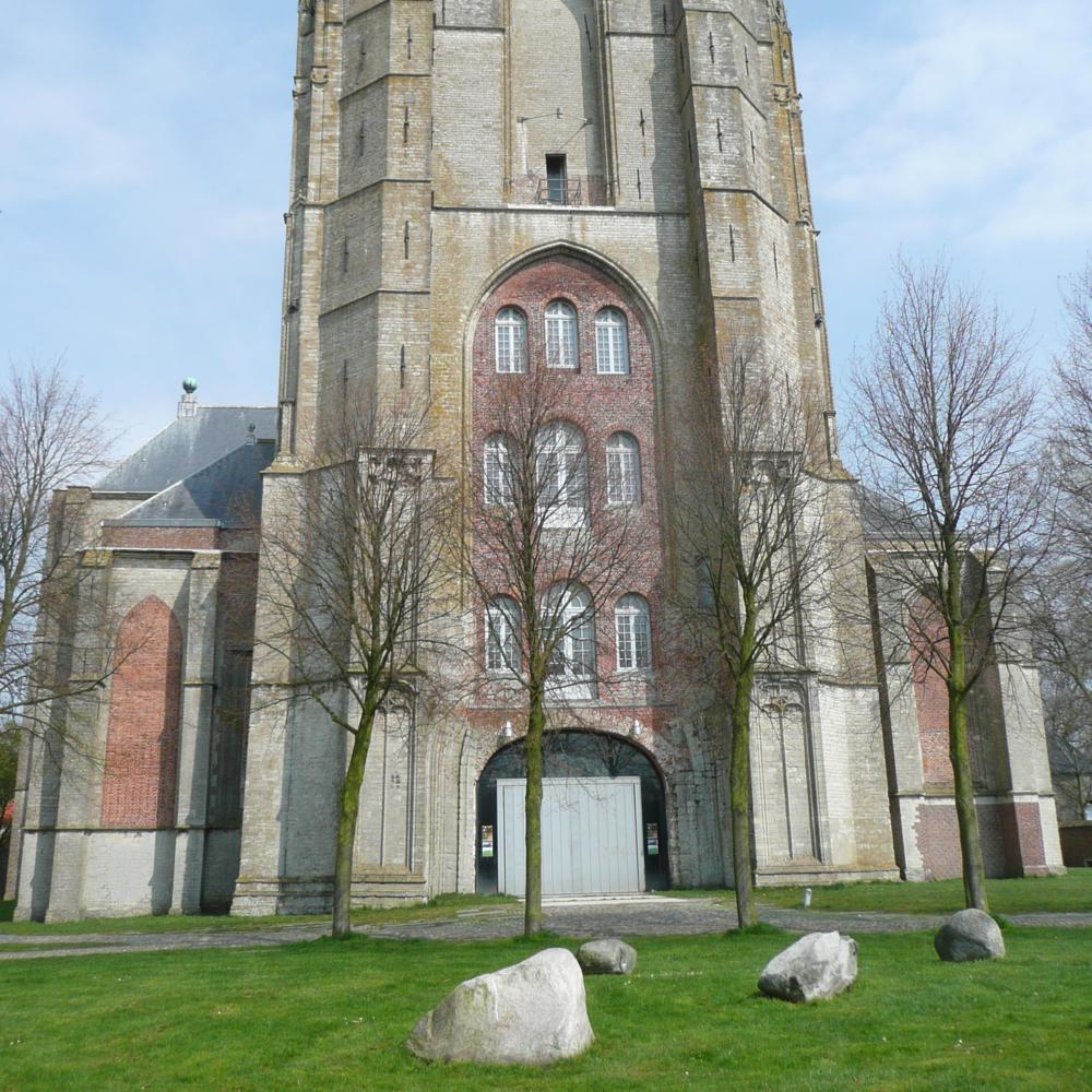 Grote Kerk, Veere   Bouwjaar:   Tussen 1350-1570  Bouwfunctie:  o.a.  opslagplaats, kazerne  Bouwtype:  Kerk