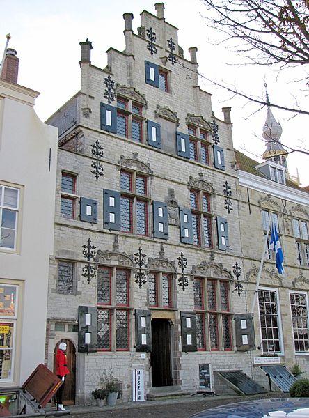 Schots huis 'Het Lammeken', Veere   Bouwjaar:   1539  Bouwstijl:  Gotiek  Bouwtype:  Woonhuis