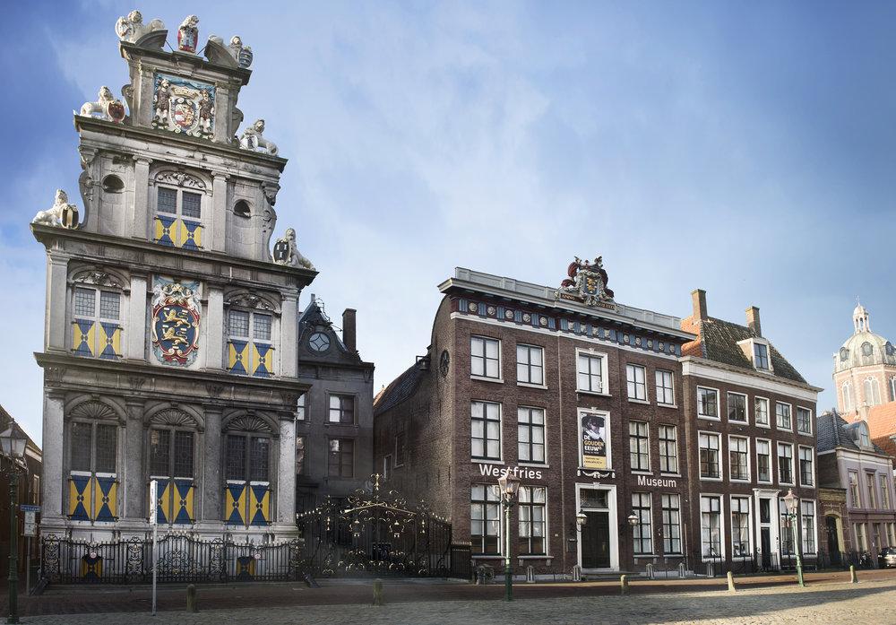 WESTFRIES MUSEUM, HOORN - ZETEL VAN HET COLLEGE VAN GECOMMITTEERDE RADEN VAN WEST-FRIESLAND EN HET NOORDERKWARTIER