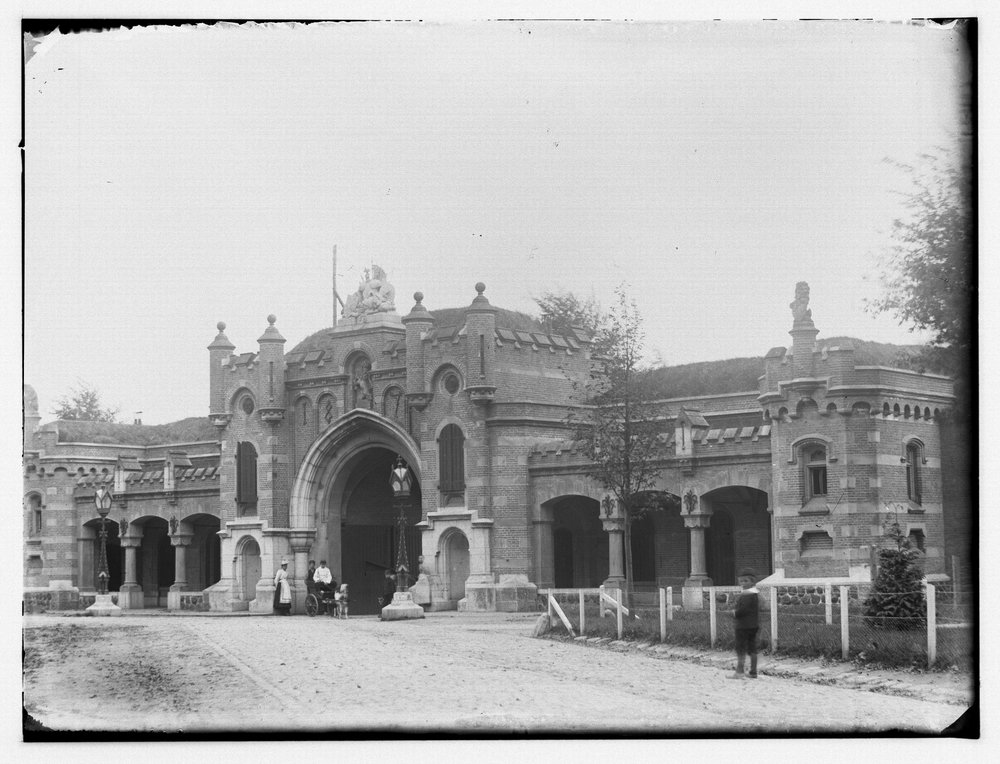De nieuwe Utrechtse Poort uit 1877.