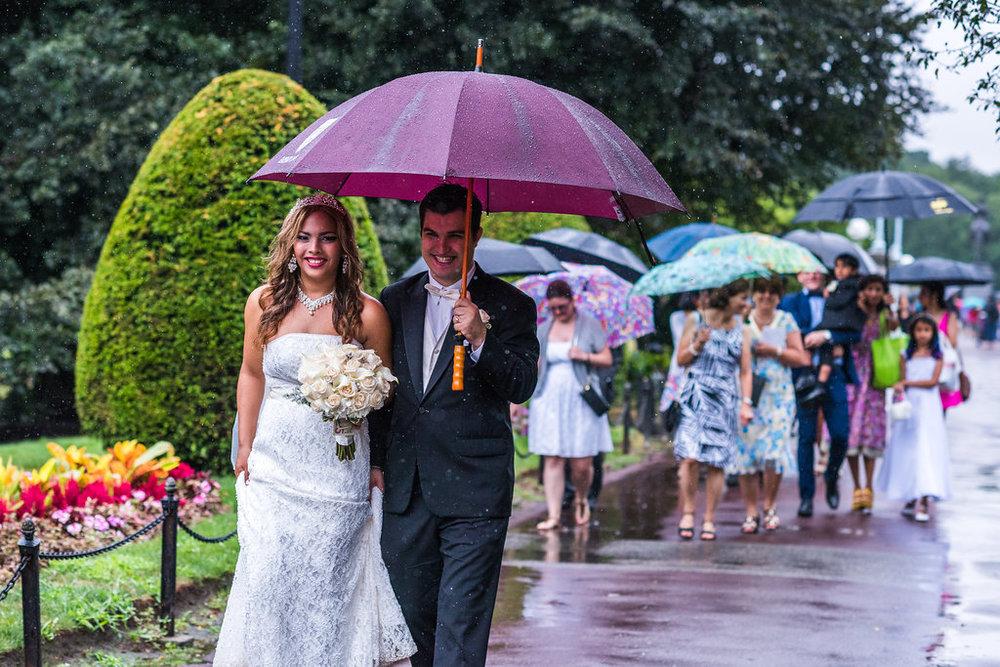 boston public garden bride