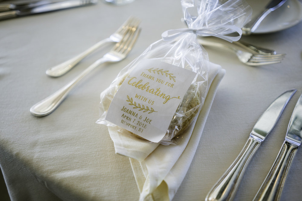 newport rhode island wedding favor