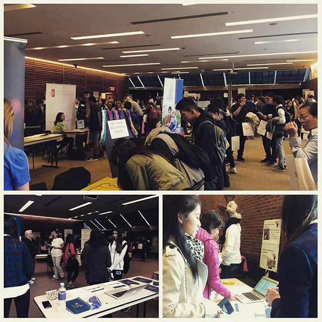 Thank you @volunteertoronto for having us at the Youth Expo yesterday!
