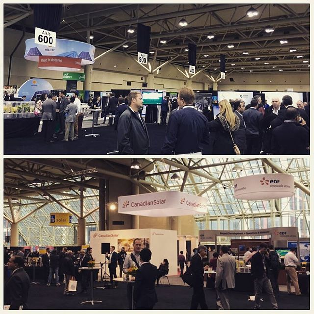 Thank you Canadian Solar Industries Association (CanSIA) for inviting us to your annual conference again! We had a great time! #solar