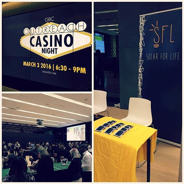 We're super stoked to be at @rotman_commerce's Outreach Charity Casino Night as one of their partner non-profits!