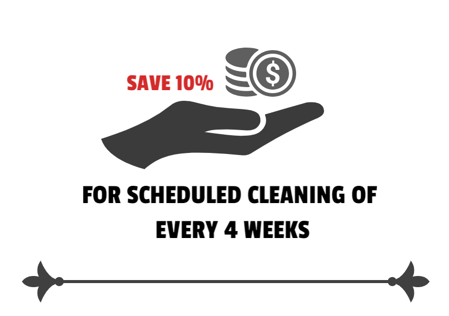 10 % Discount on Cleaning Services