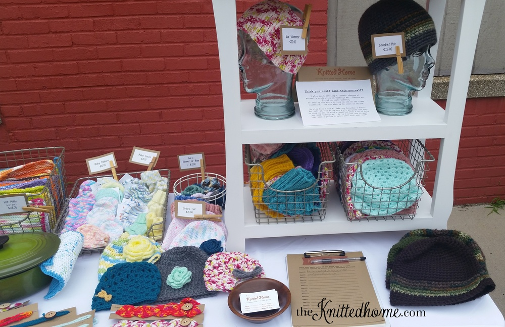 July Toledo Art Walk 2015 | theknittedhome.com