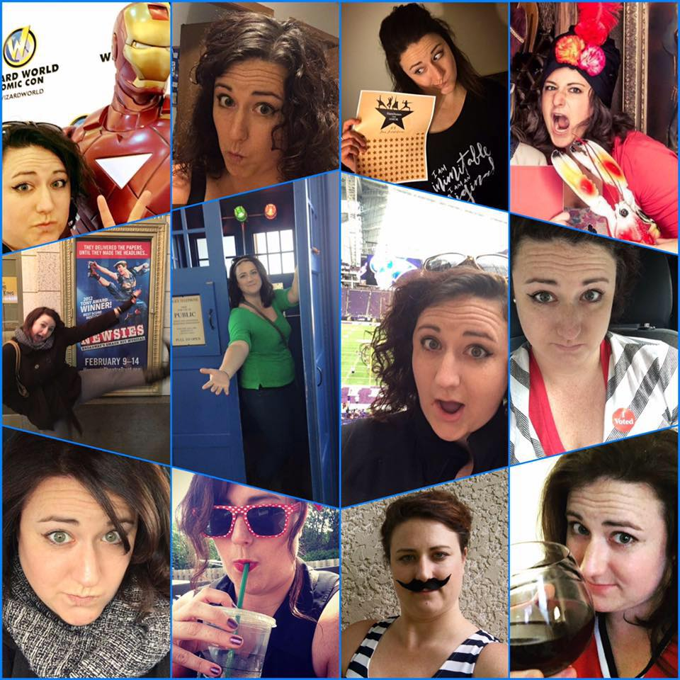 The many wonderful,nerdy faces of Rebecca