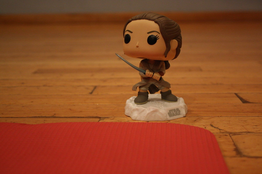 One of the many Funko Pop! figures you'll find at YogaQuest