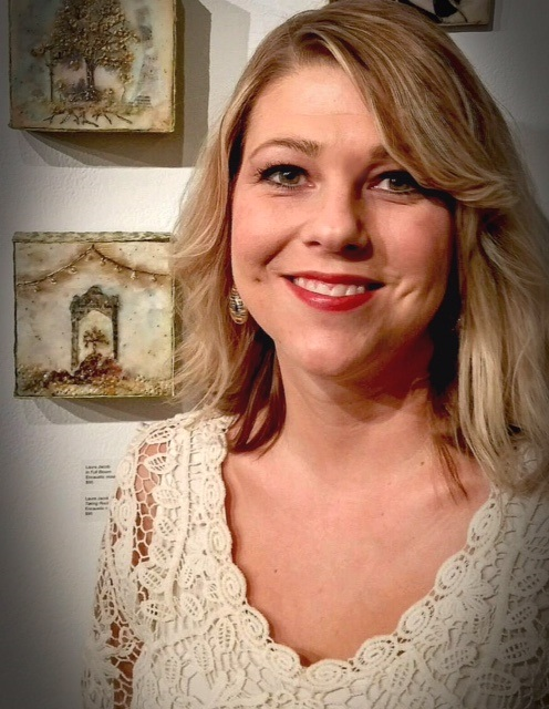 Artist Laura Jacob