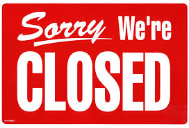 Friday Jan 1, 2016 Closed