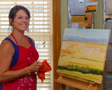 Artist Jane Dippold