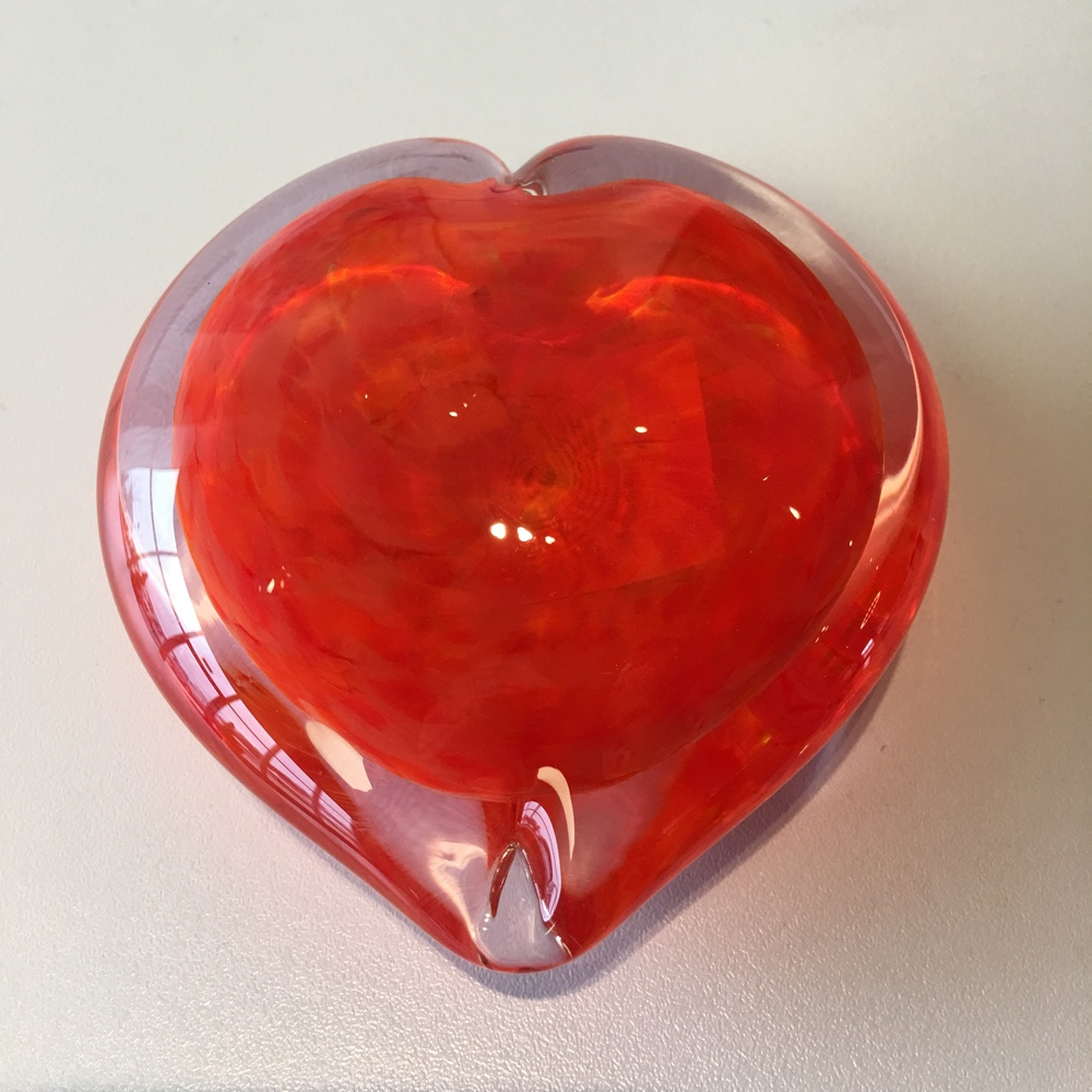 Mike Stepanski Glass Heart