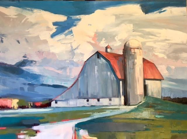 Melodie Thompson - Her Heart Grew to the Size of a Barn 40x30.jpg
