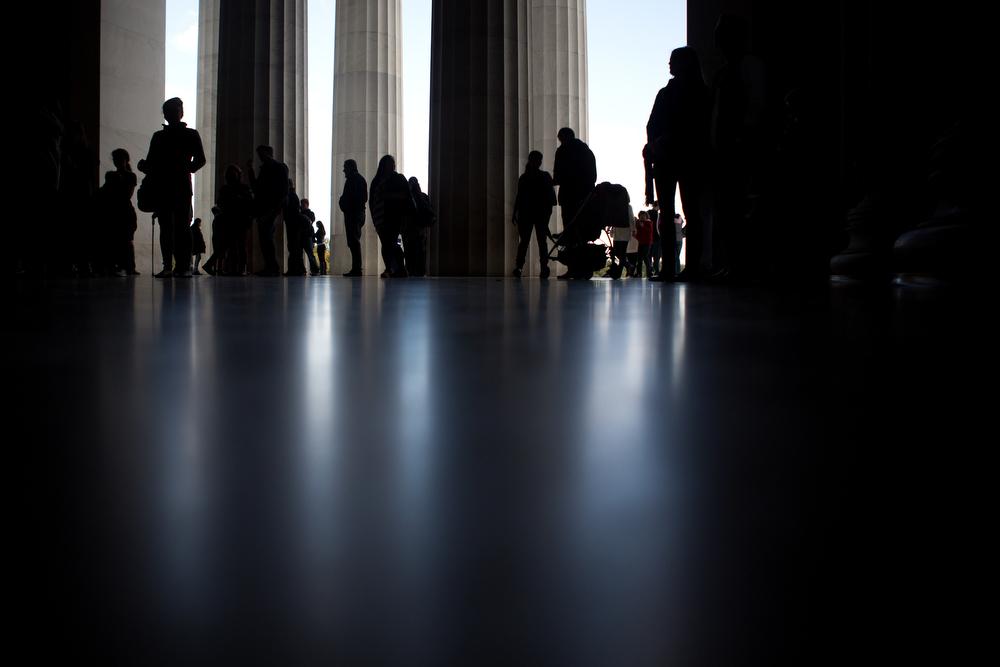 Lincoln Memorial. D.C. 2015.