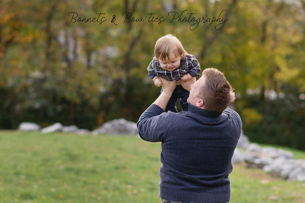 John Rudy- Daddy- baby portrait