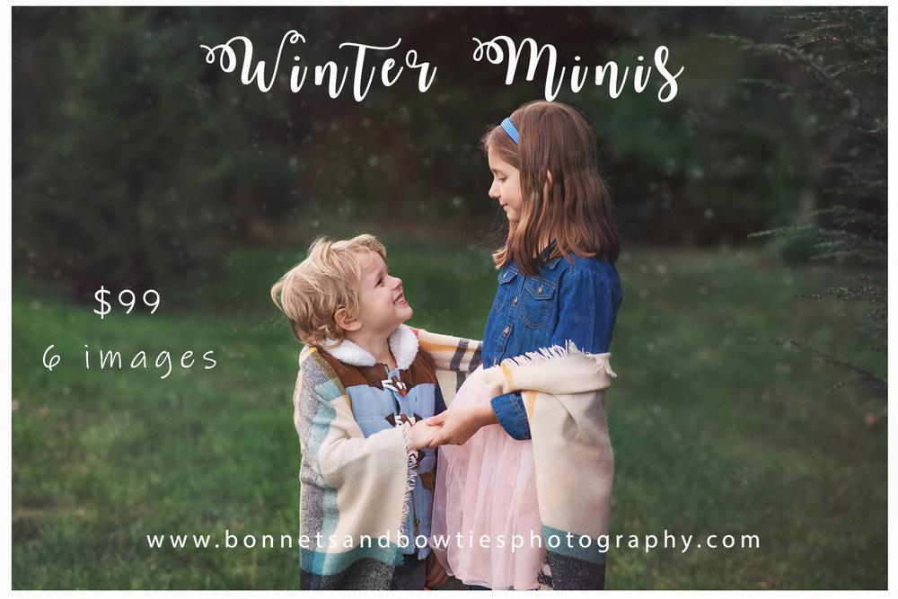winter mini photo sessions in york pa