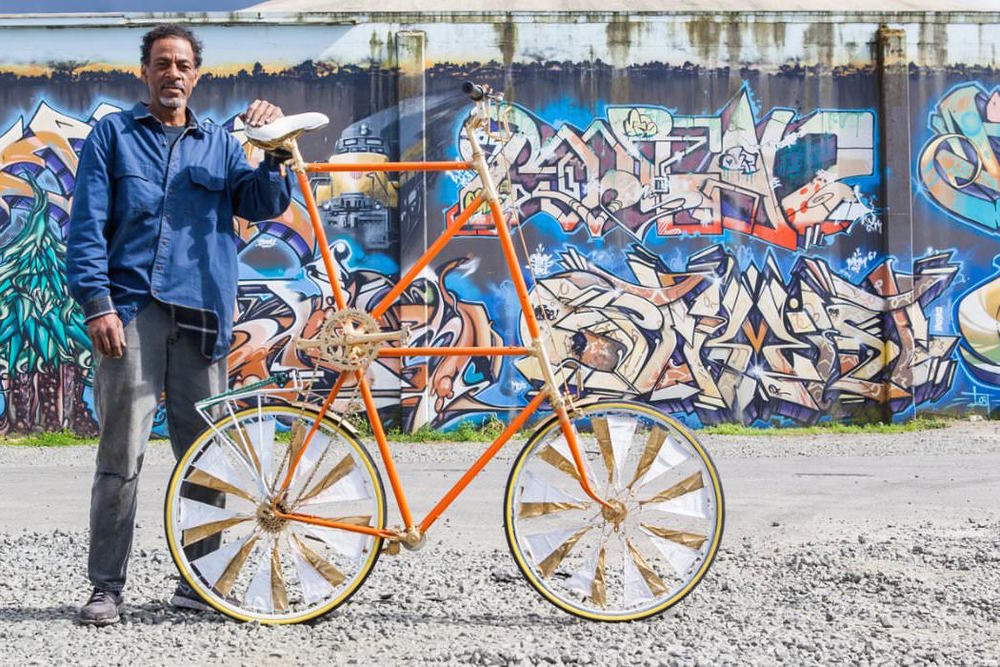 This Man Is Transforming Oakland One Awesome Custom Bike at a Time
