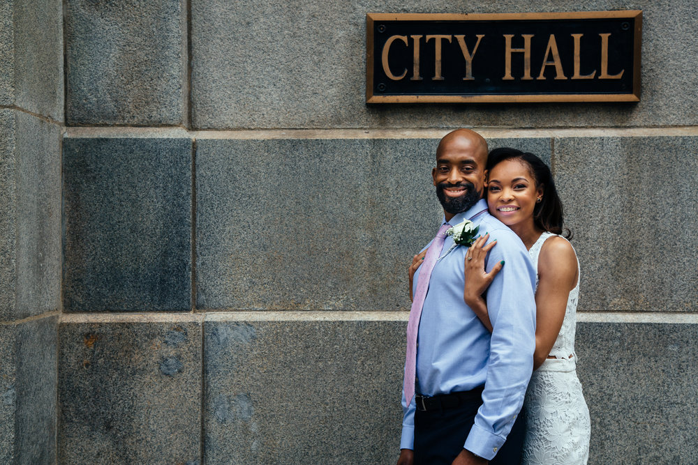 tony + brittany - A Chicago elopement.