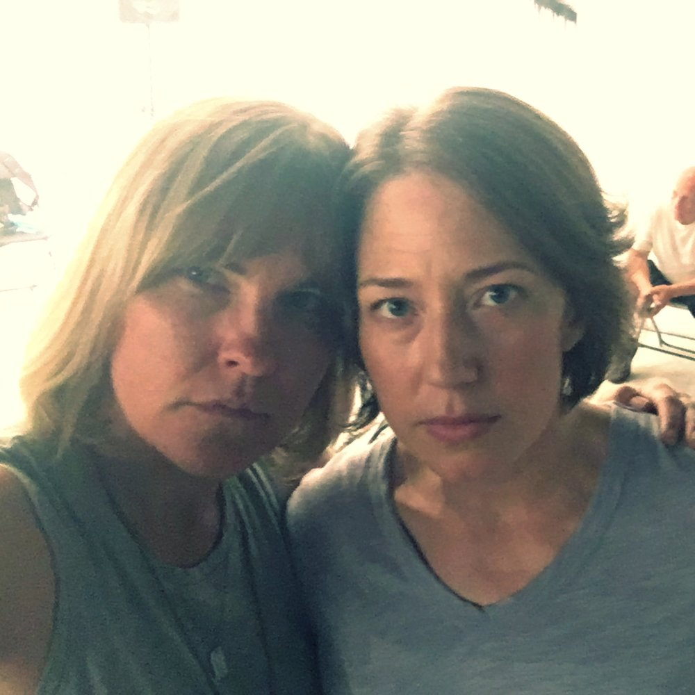 Kelly McAndrew and Carrie Coon