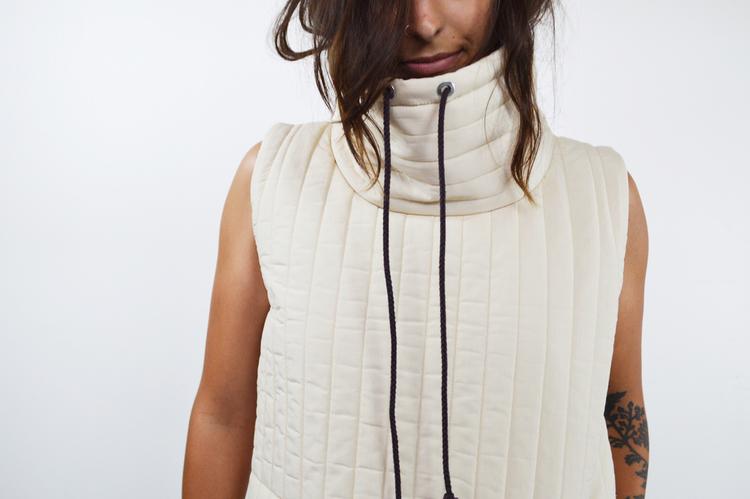 Odetta Vest // $120 // 15 produced