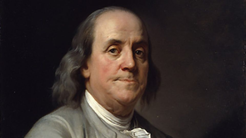 Benjamin Franklin - Stephen J. McConnell - Thoughts on Writing Blog