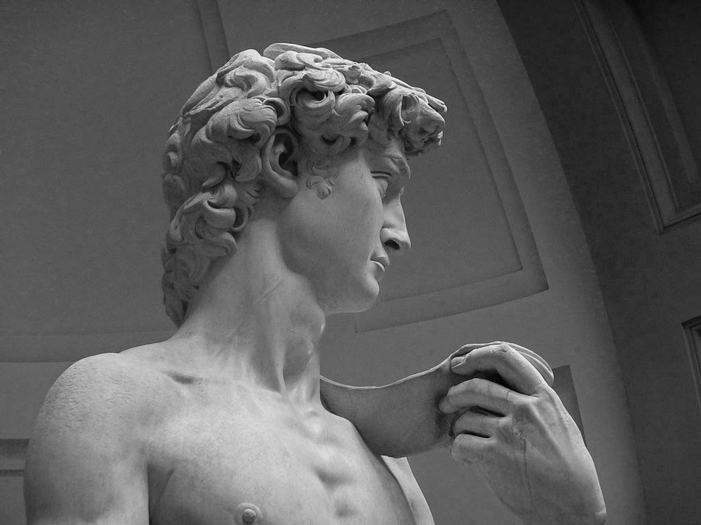 Stephen J. McConnell - Thoughts on Writing Blog - Statue of David