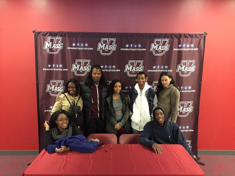 university of massachusetts college trip