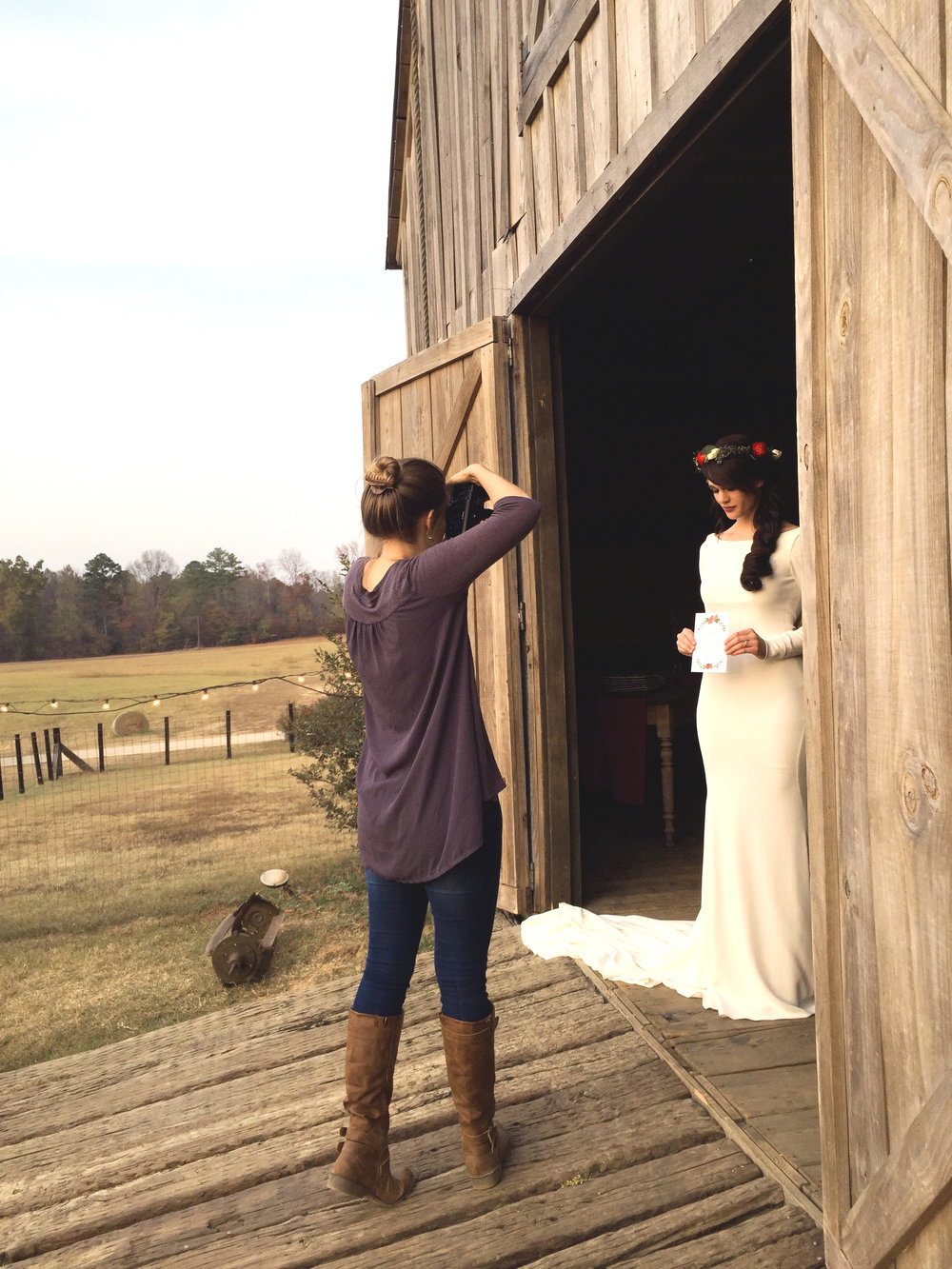 Sunset styled-shoot gorgeousness!