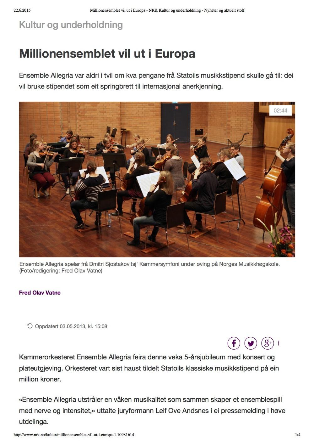 Millionensemblet vil ut i Europa - NRK Kultur og underholdning - Nyheter og aktuelt stoff.jpg