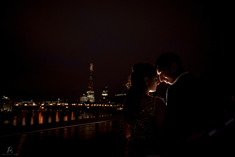 Larissa and Manjot's Pre Wedding shoot - London