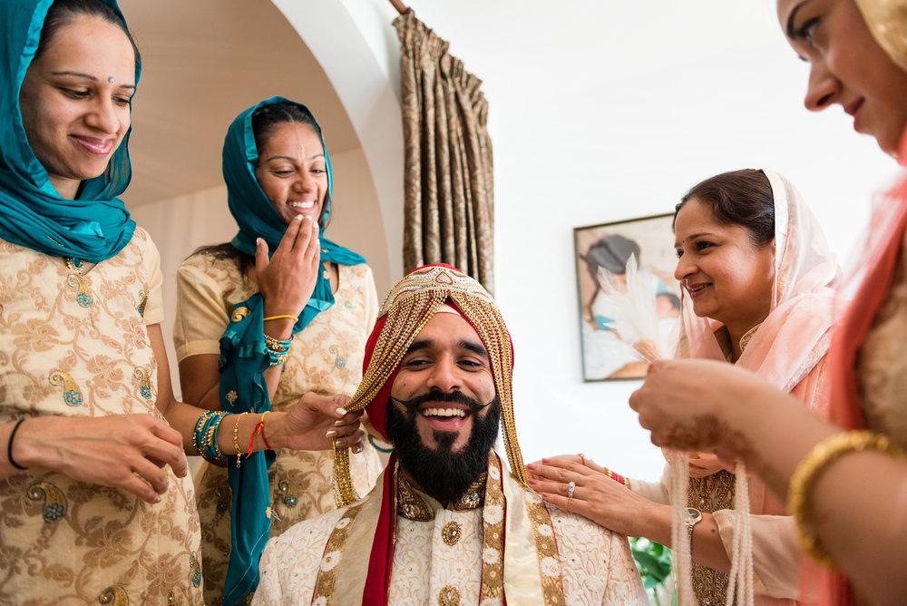 Poonam & Gautum's Gurdwara Wedding London
