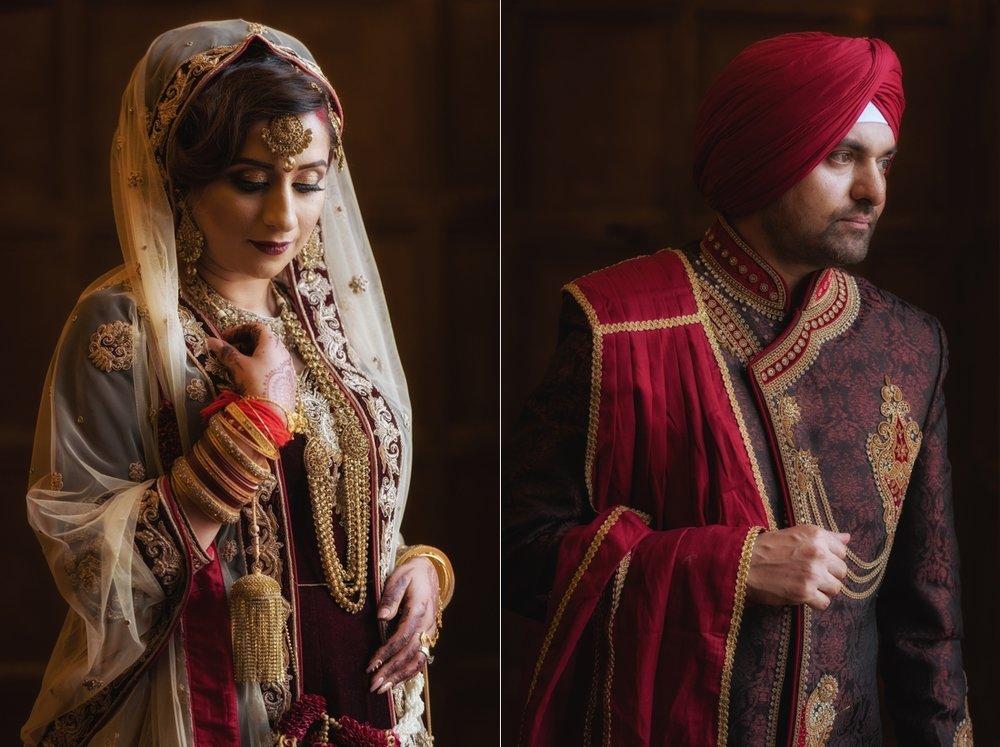 Sabrina & Raj's Wedding Portrait's