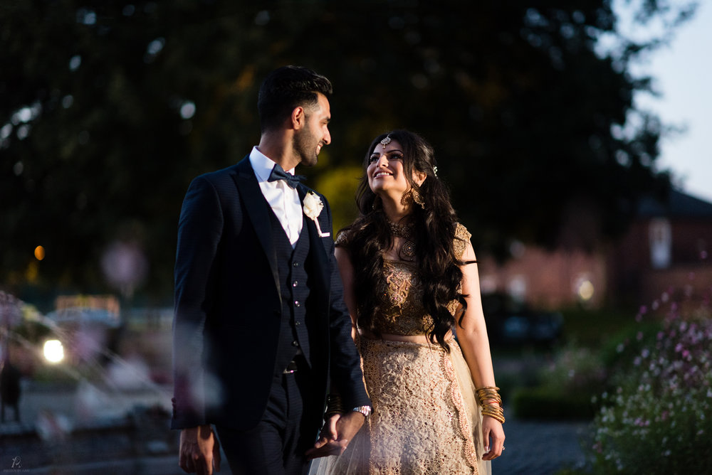 Chaya & Sumeet's Civil Wedding, Colwick Hall - Nottingham