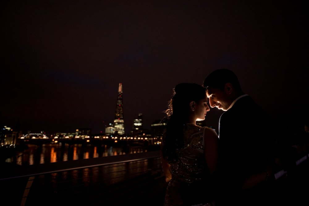 Indian Wedding Photographers In London - Millennium Bridge