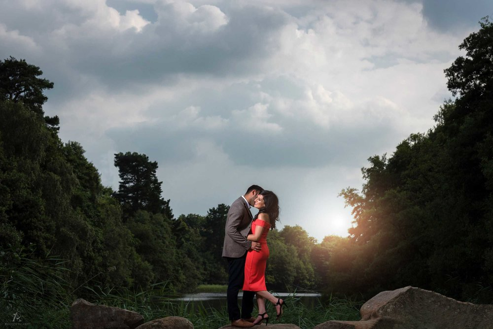 Asian Wedding Photography In London - Virginia Waters