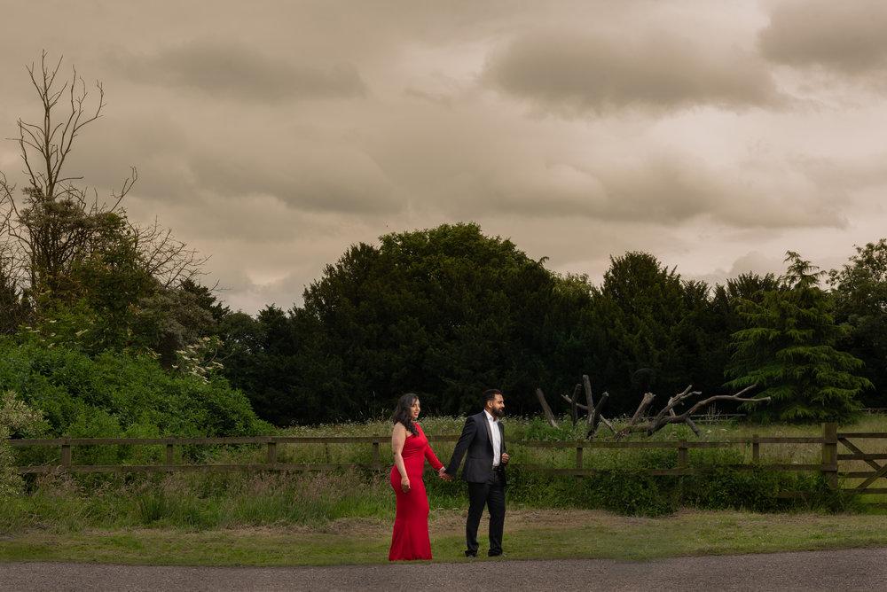 Pre-Wedding shoot in Leicester - Photos by Abhi