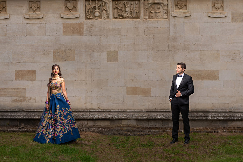 Neha and Cecilio Hindu Wedding Stapleford Park - Photos by Abhi