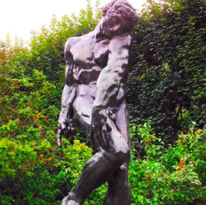 Musée Rodin - Sculpture Garden. Adam.