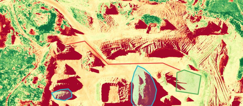 Normalized Difference Vegetation Index ( NDVI )