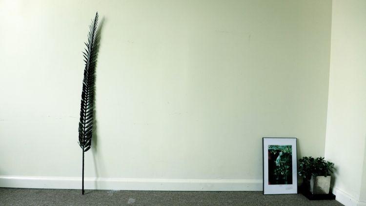 ロン毛と坊主とニューヨーク 残っているもの:装飾品 カンノコウヘイ 井上靖