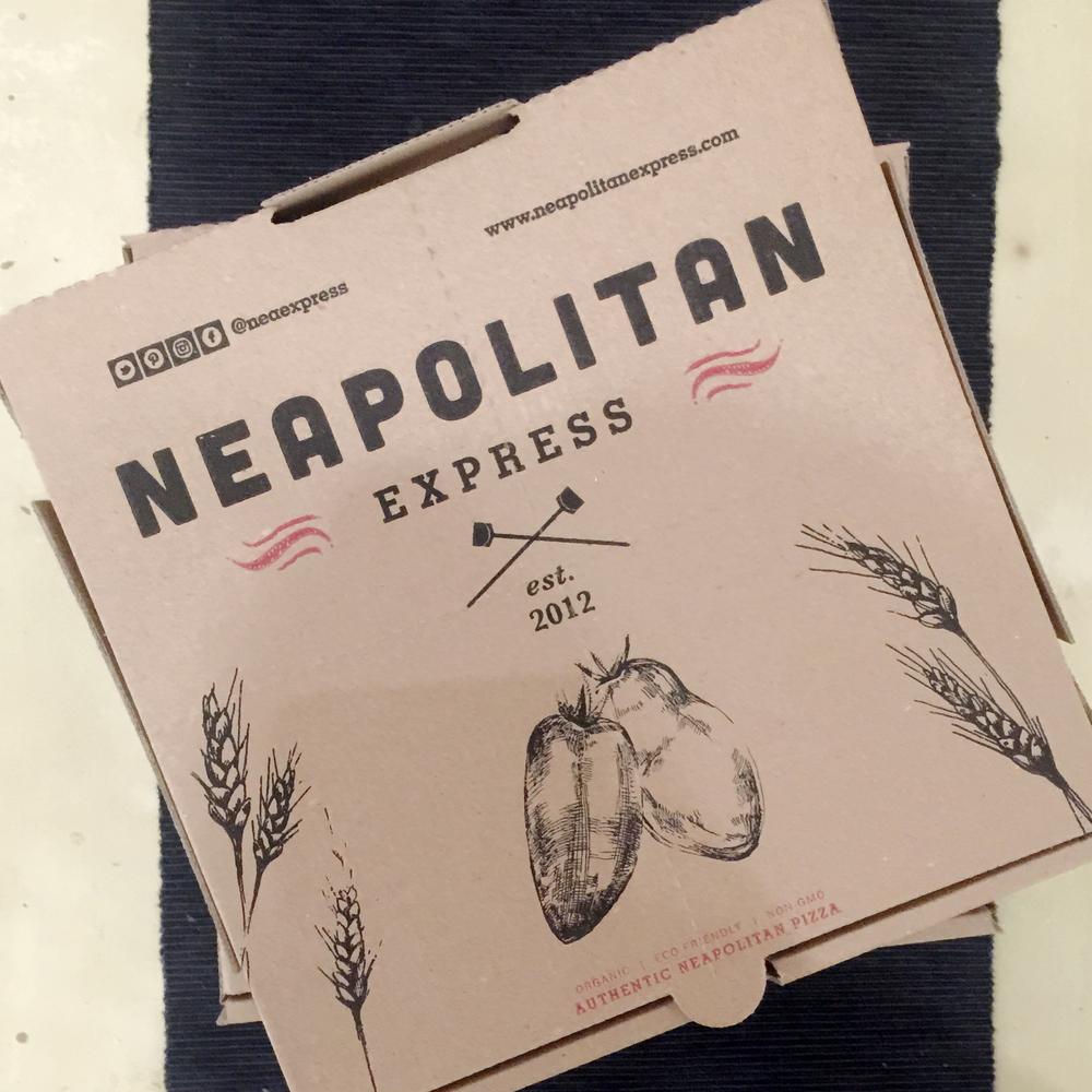 ロン毛と坊主とニューヨーク Neapolitan Express ピザ