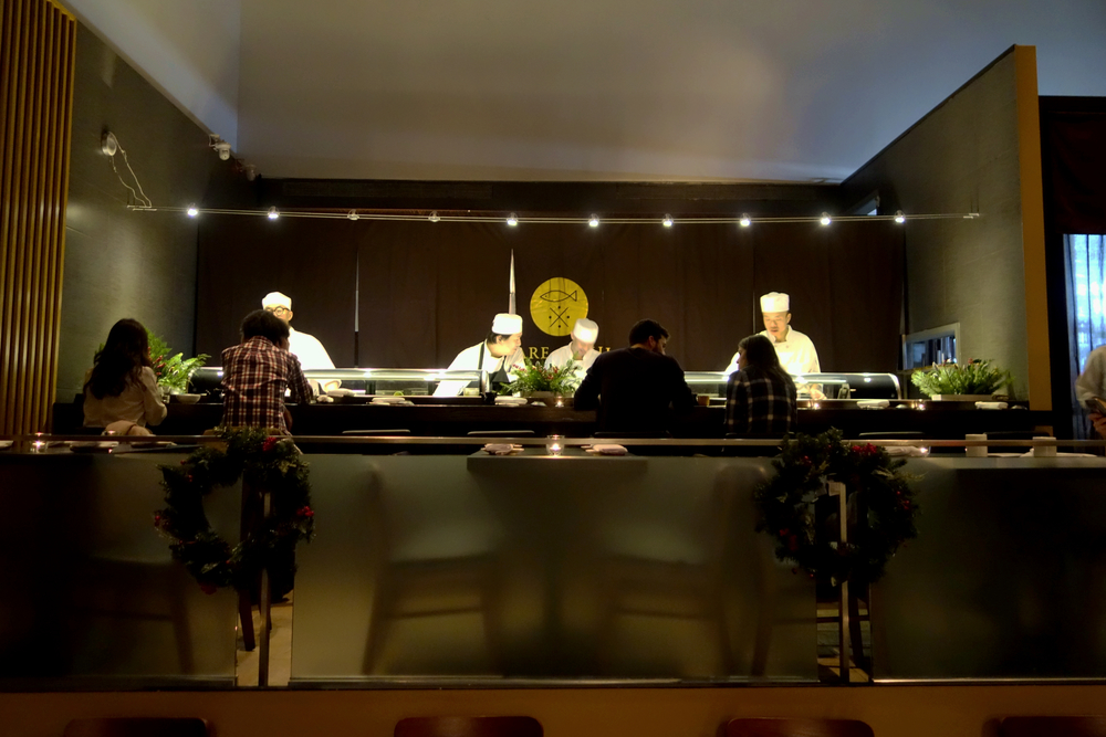 ロン毛と坊主とニューヨーク Nare Sushi