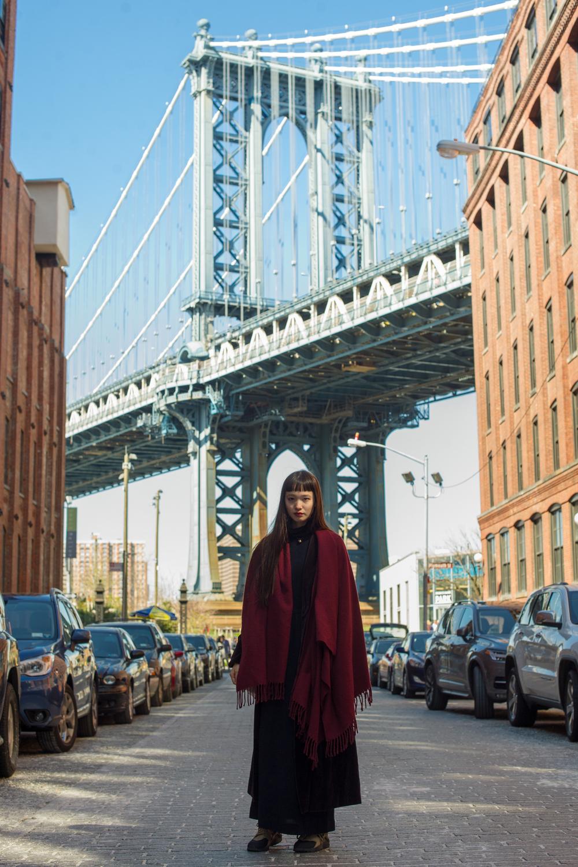 ロン毛と坊主とニューヨーク モデル 萬波ユカ 古着屋 フリーマーケット ニューヨーク