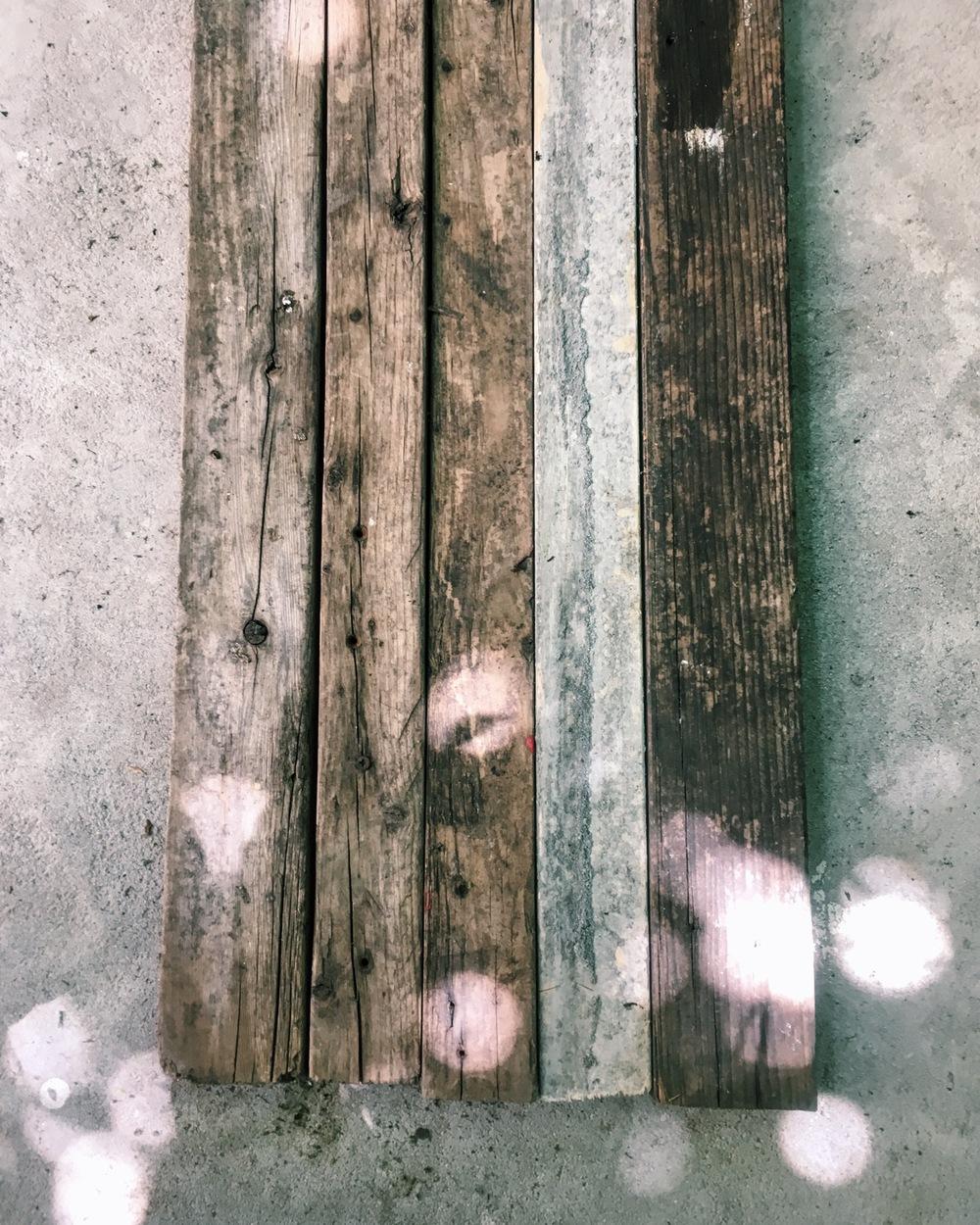 ロン毛と坊主とニューヨーク DIY バーテーブル ヴィンテージ家具 Home Depot