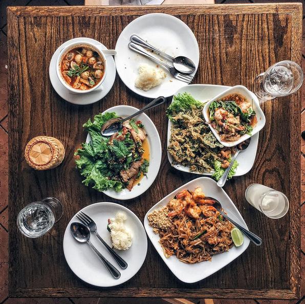 SriPraPhai Thai Restaurant シープラパイ タイレストラン ウッドサイド ニューヨーク 観光
